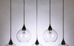 Glass Orb Pendant Lights