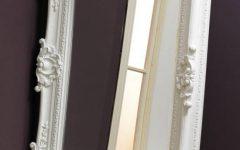 White Rococo Mirrors