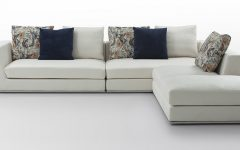 White Fabric Sofas