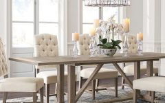Gray Wash Livingston Extending Dining Tables