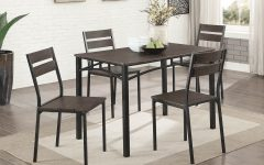 Autberry 5 Piece Dining Sets