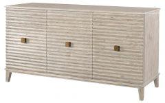 Corrugated White Wash Sideboards