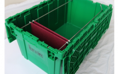 Plastic Wardrobe Box