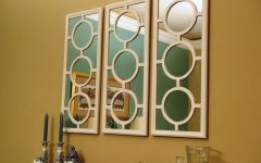 Set of Wall Mirrors