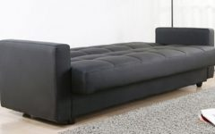 Leather Sofa Beds with Storage