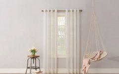 Emily Sheer Voile Grommet Curtain Panels