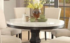 Nolan Round Pedestal Dining Tables
