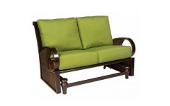Loveseat Glider Benches with Cushions