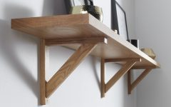 Oak Wall Shelves