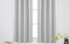 Thermal Insulated Blackout Curtain Panel Pairs