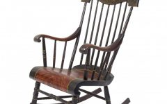 Old Fashioned Rocking Chairs