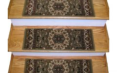 Oriental Rug Stair Treads