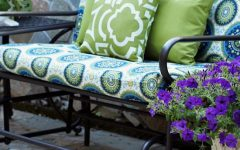 Glider Benches with Cushions