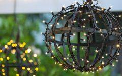 Outdoor Globe Lanterns