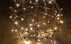 Outdoor Hanging Sphere Lights