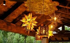 Outdoor Mexican Lanterns