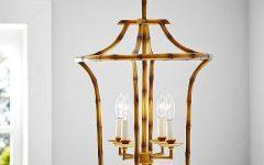 Pagoda Pendant Lights
