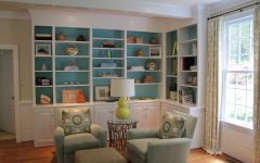 Family Room Bookcases