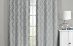 Grommet Top Thermal Insulated Blackout Curtain Panel Pairs