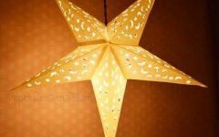 Paper Star Pendant Lights