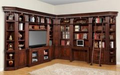 Home Library Wall Units