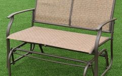 Indoor/outdoor Double Glider Benches