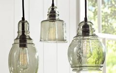 Hand Blown Glass Pendant Lights