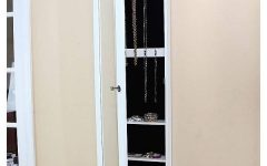 Jewelry Armoire Wall Mirrors