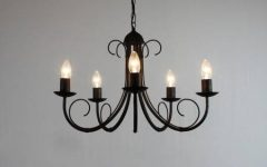 Wrought Iron Lights Fittings