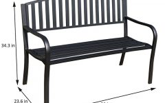 Pettit Steel Garden Benches