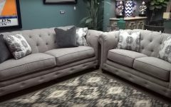 Ashley Furniture Gray Sofa