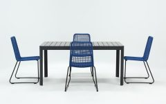 Pilo Blue Side Chairs