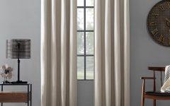 Cyrus Thermal Blackout Back Tab Curtain Panels