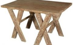 Carelton 36'' Mango Solid Wood Trestle Dining Tables