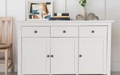 Cheap White Sideboard