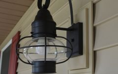 Vinyl Outdoor Wall Lighting