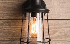 Bellefield Black Outdoor Wall Lanterns