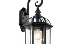 Powell Beveled Glass Outdoor Wall Lanterns