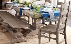 Gray Wash Toscana Extending Dining Tables