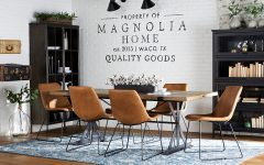 Magnolia Home Molded Shell Saddle Side Chairs