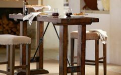 Benchwright Bar Height Dining Tables