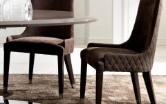 Quilted Black Dining Chairs