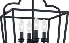 Black 13.4'' H Hammered Glass Outdoor Wall Lanterns