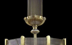 Large Art Deco Chandelier