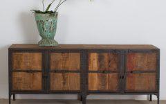 Metal Framed Reclaimed Wood Sideboards