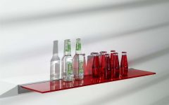 Coloured Glass Shelves