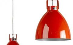 Large Red Pendant Lights