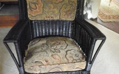 Antique Wicker Rocking Chairs With Springs