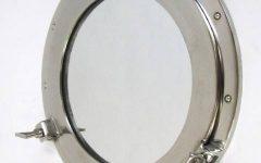 Chrome Porthole Mirrors