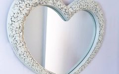 Heart Wall Mirrors